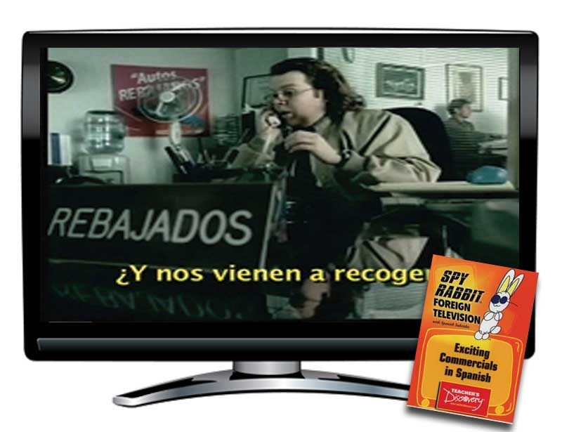 Spy Rabbit!™ Exciting Commercials in Spanish Video