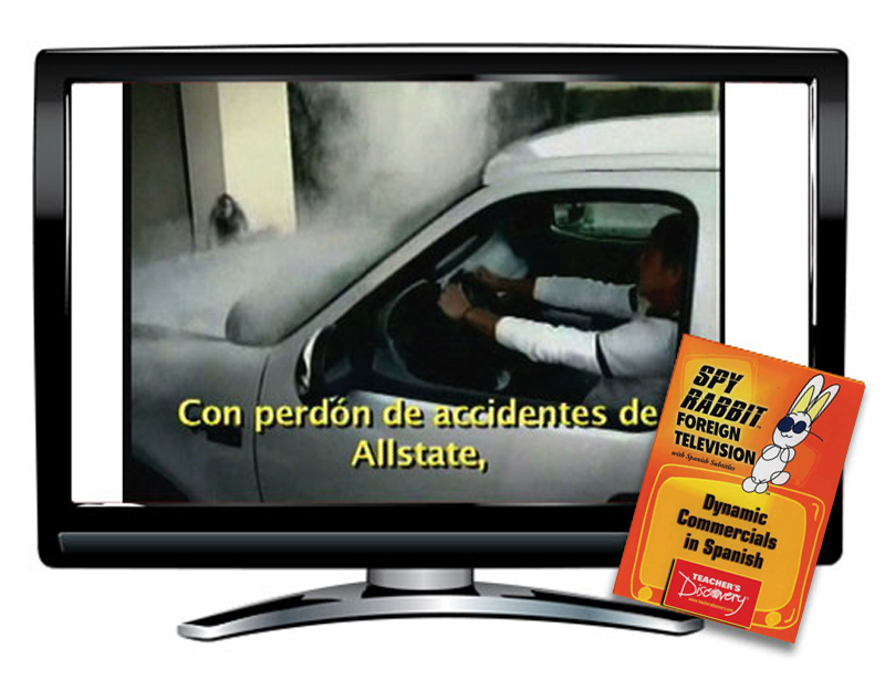 Spy Rabbit!™ Dynamic Commercials in Spanish Video