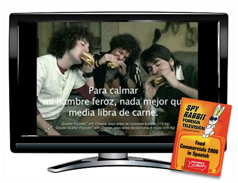 Food Commercials 2006 Spanish DVD