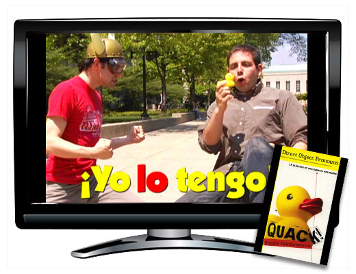Direct Object Pronouns Spanish QUACK! DVD