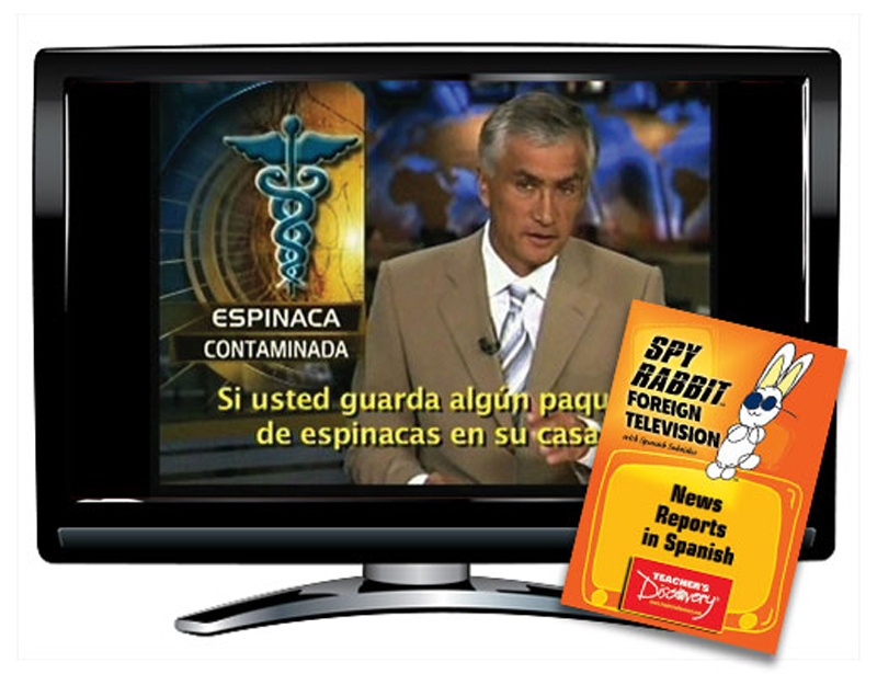 Spy Rabbit!™ News Reports in Spanish Video