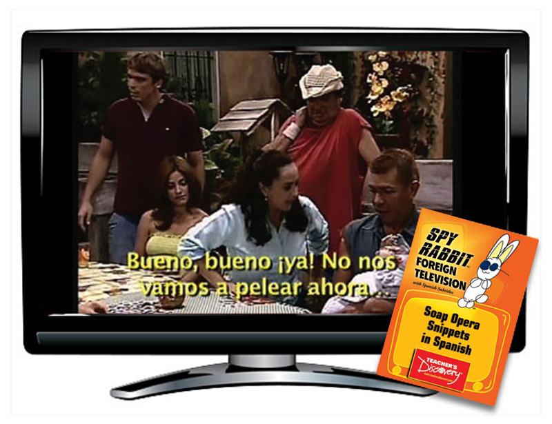 Spy Rabbit!™ Soap Opera Snippets in Spanish Video