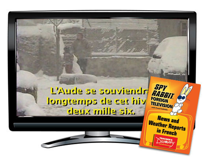 Spy Rabbit News and Weather French DVD