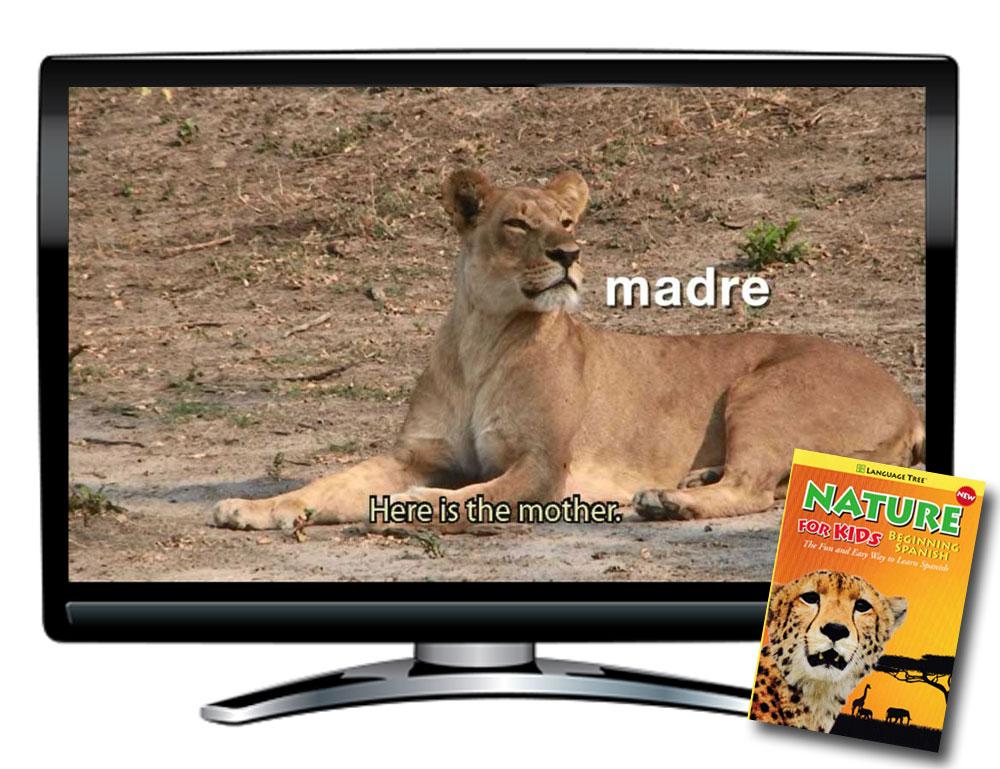 Language Tree Nature for Kids Beginning Spanish Video