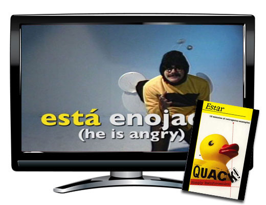 Quack!™ Estar Spanish Video - Quack!™ Estar Spanish Video DVD