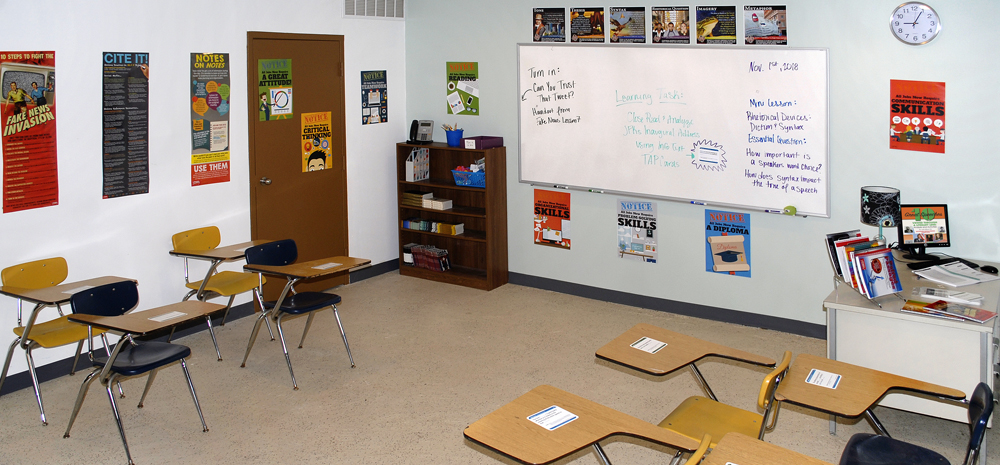 Informational Text Reading Classroom