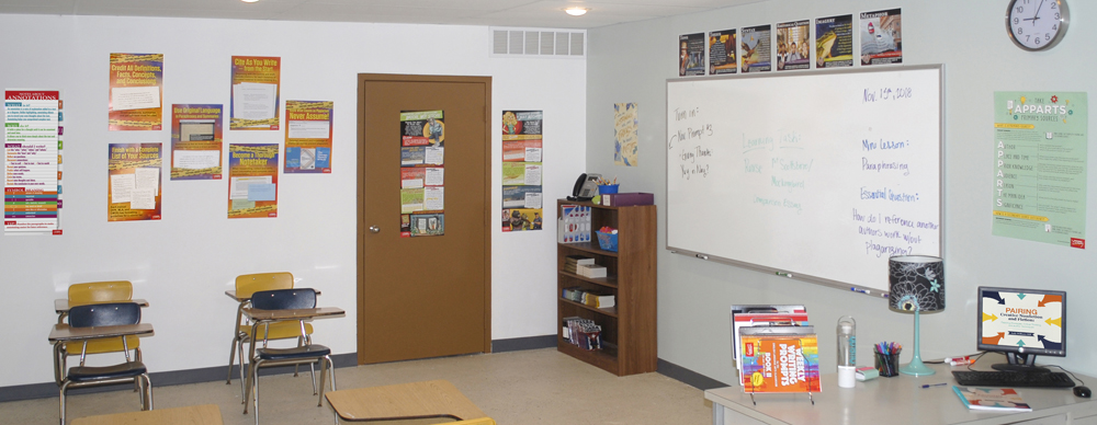 Informational Text Writing Classroom