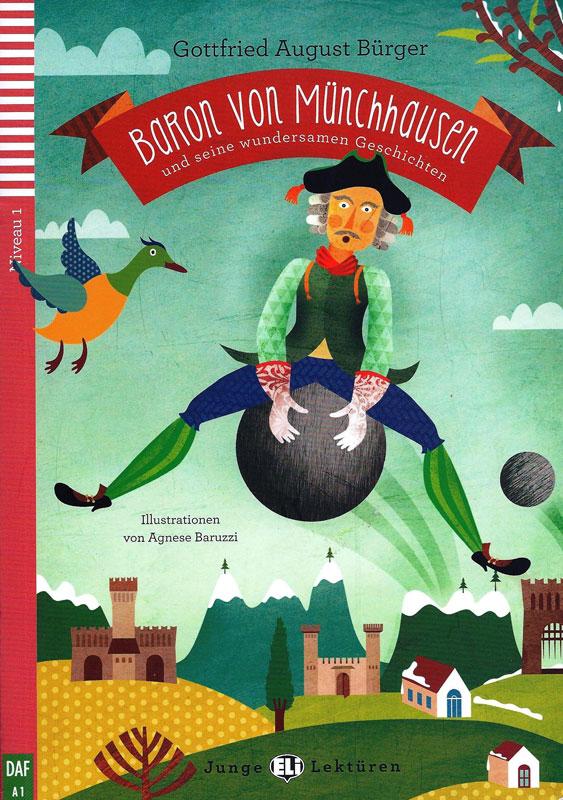 Baron von Münchhausen German Level 3 Reader with Audio CD
