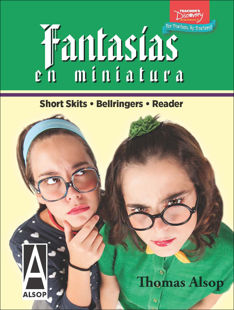 Fantasías en miniatura Spanish Level 2 Reader