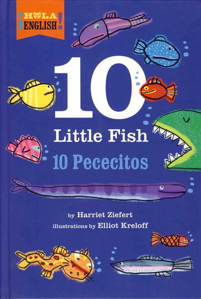 10 Little Fish Bilingual Storybook