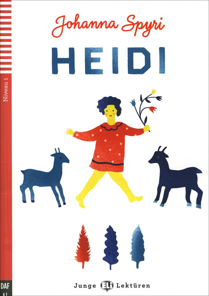 Heidi German Level 2 Reader with Audio CD
