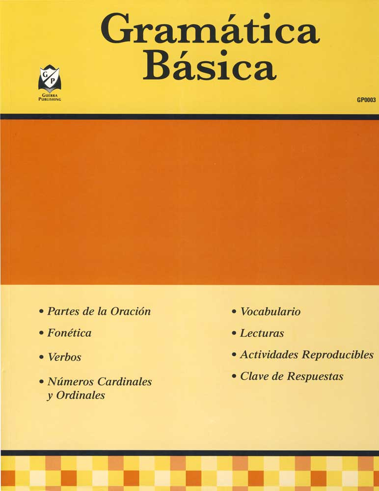 Gramática Básica Spanish Activity Book