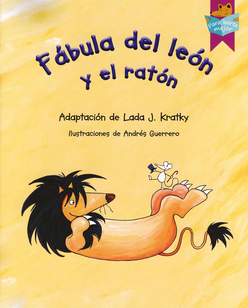 Fábula del león y el ratón Spanish Storybook