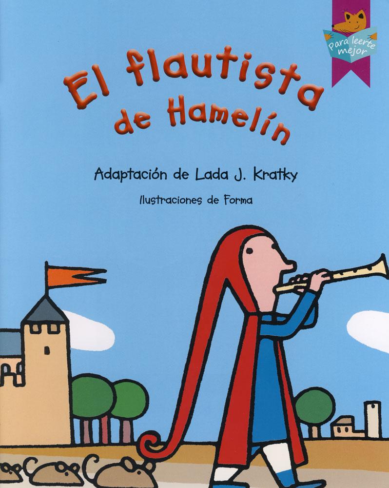 El flautista de Hamelin Spanish Storybook