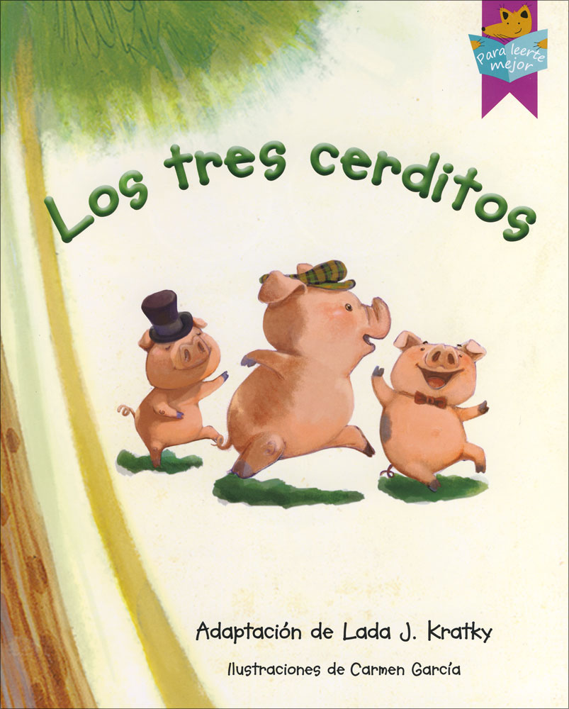 Los tres cerditos Spanish Storybook