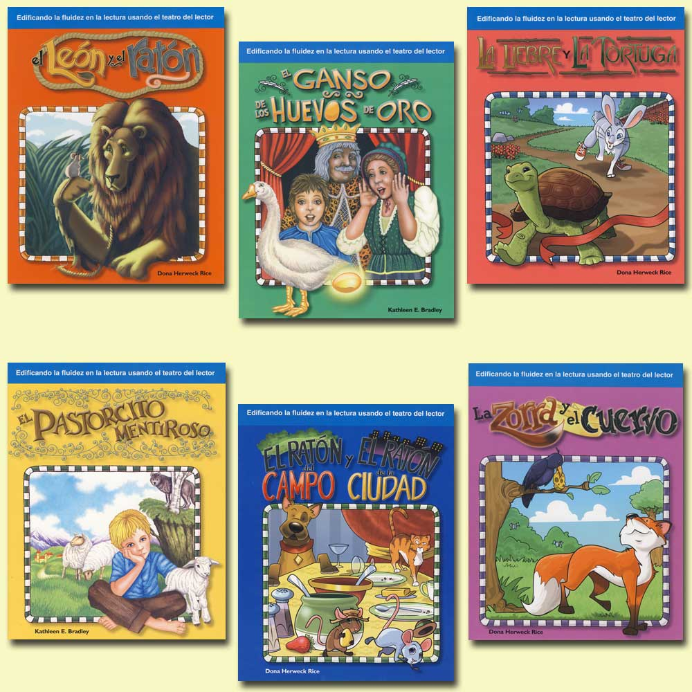 Children's Fables 6-Book Spanish Set