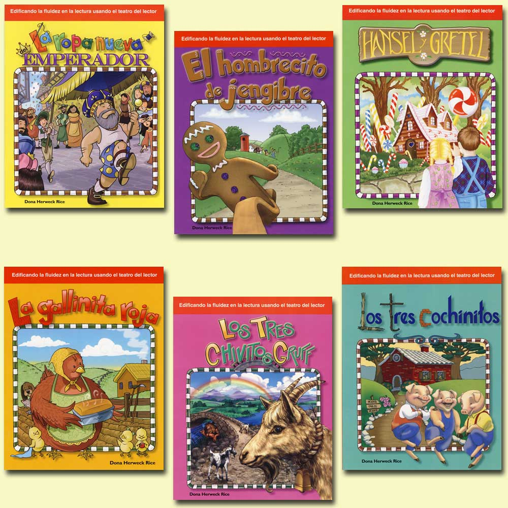 Children's Folk Tales & Fairy Tales 6-Book Spanish Set