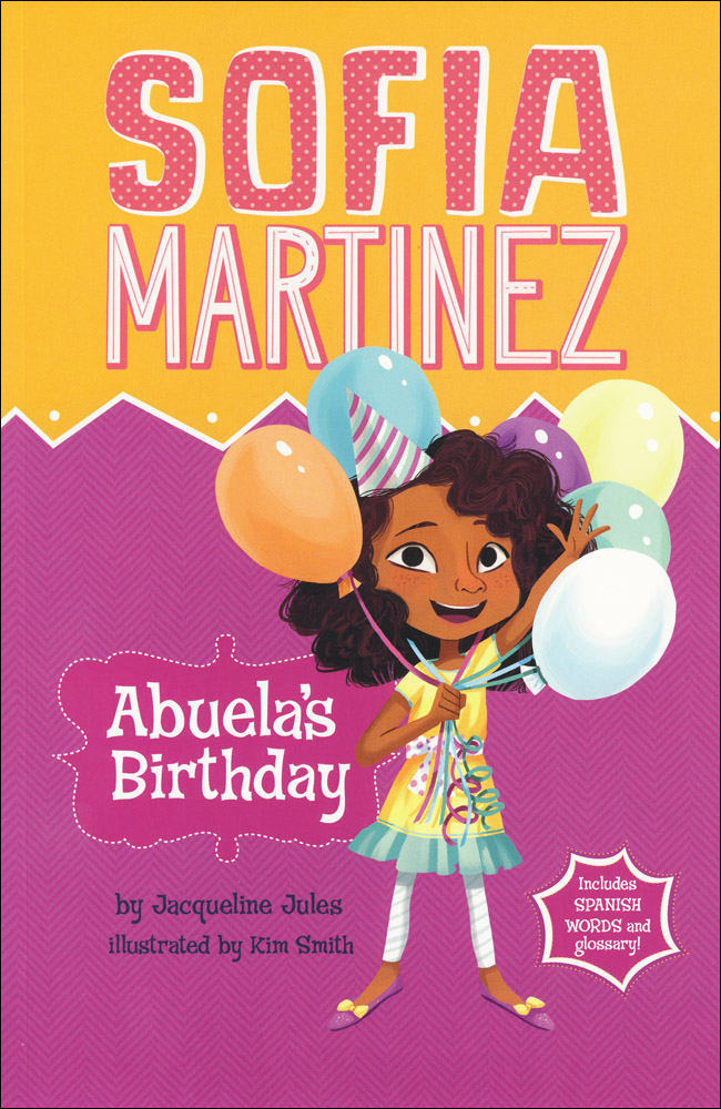 Sofia Martinez Abuela's Birthday Book