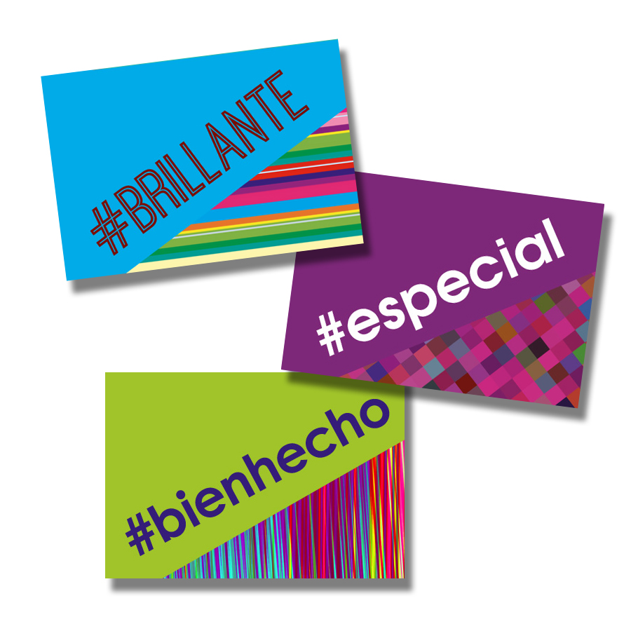 Hashtag Spanish Stickers (60)