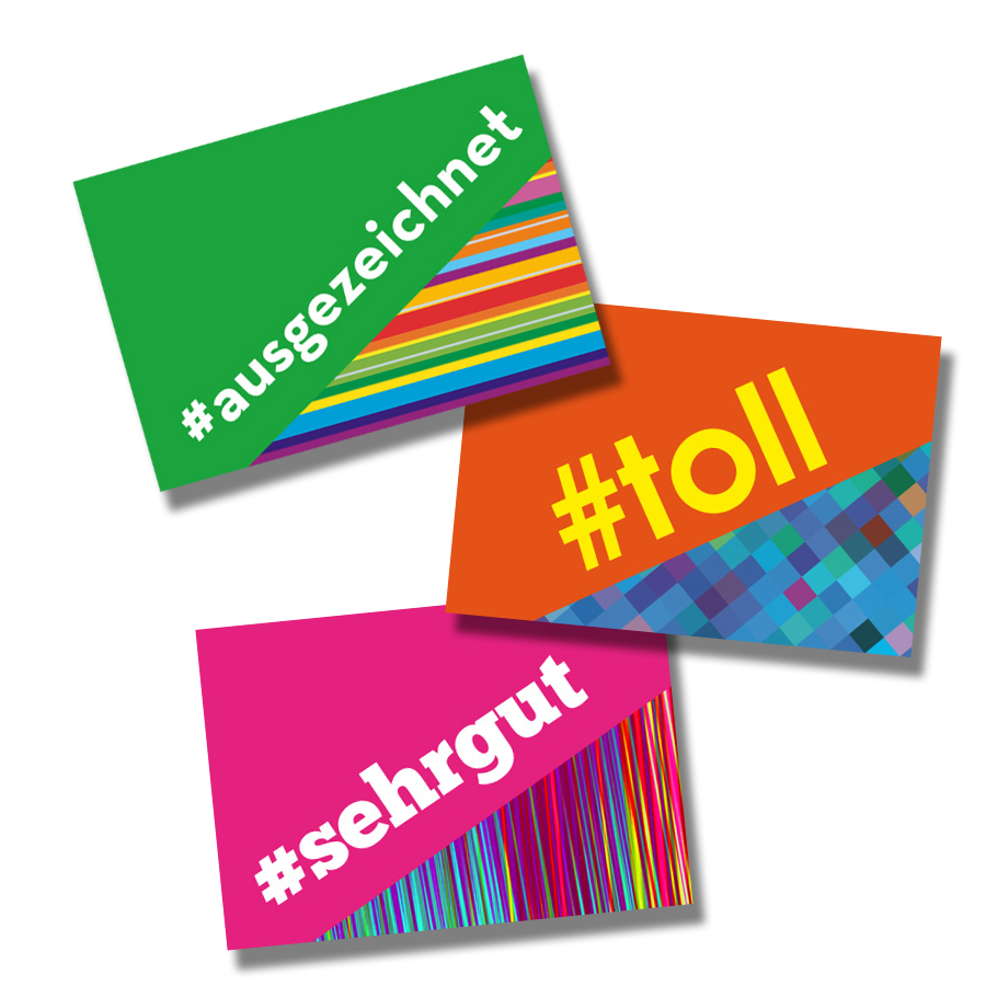 Hashtag German Stickers (60)