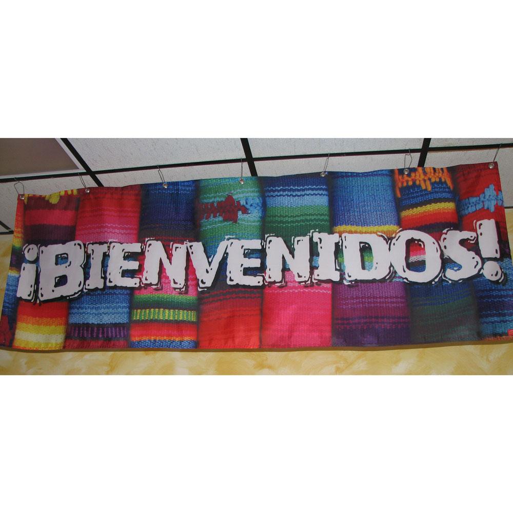 ¡Bienvenidos! Banner with Clips