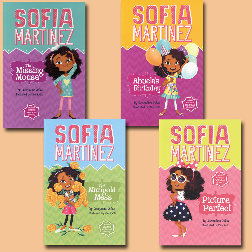 Sofia Martinez Set of 4 Books