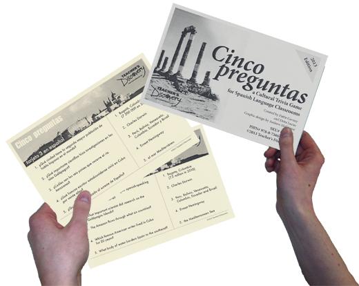 Cinco preguntas- Quick Spanish Culture Trivia Game
