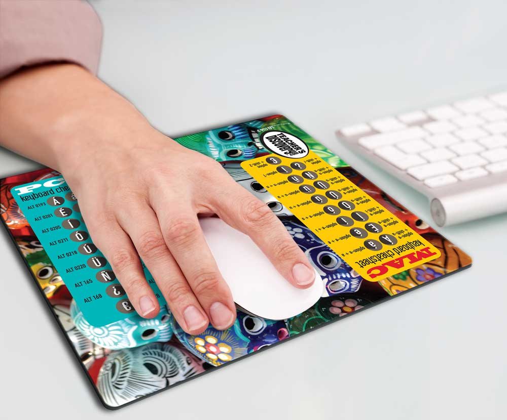 Spanish Accent Mousepad
