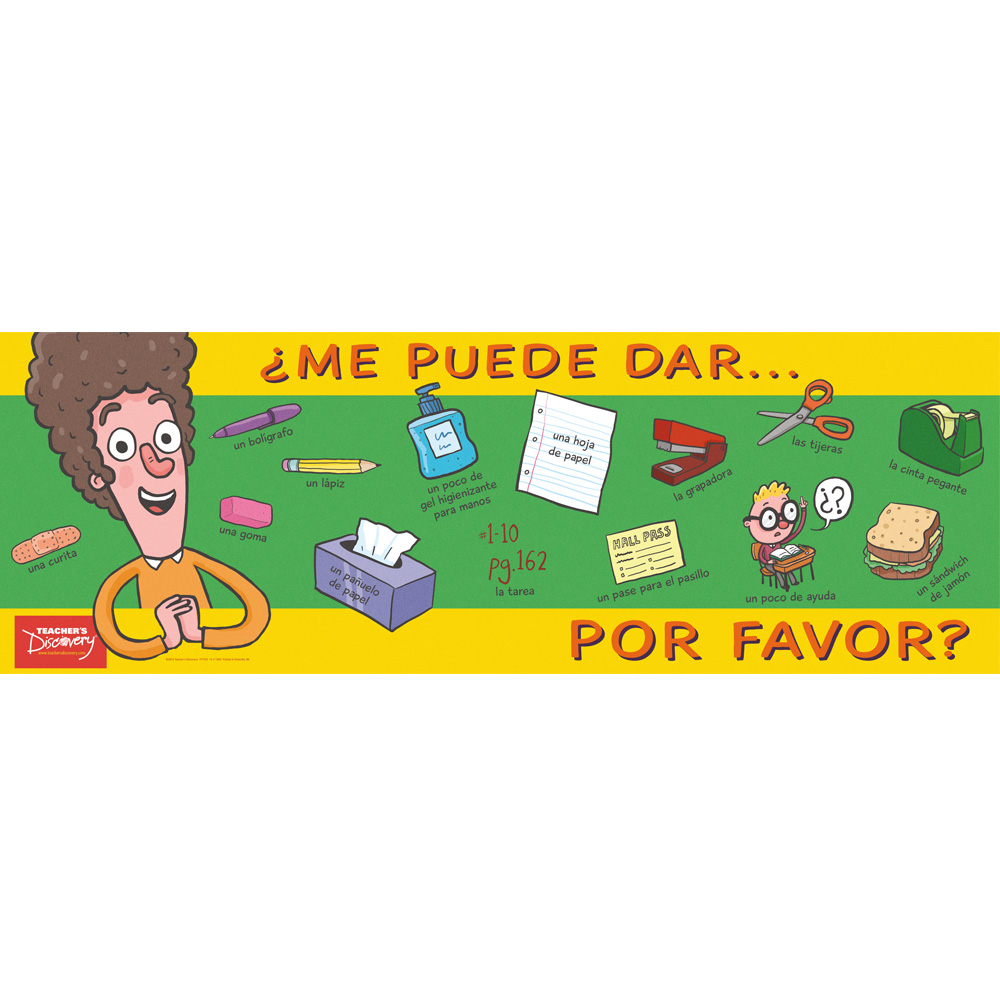 Ask for it in spanish poster vocab grammar teacher 39 s for Farcical in spanish