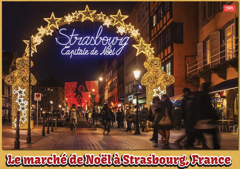 Le marché de Noël Poster
