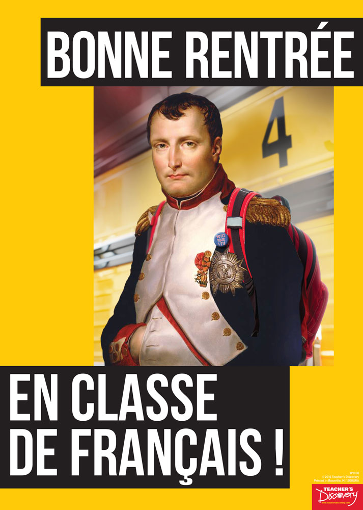 Welcome Back Napoleon French Poster