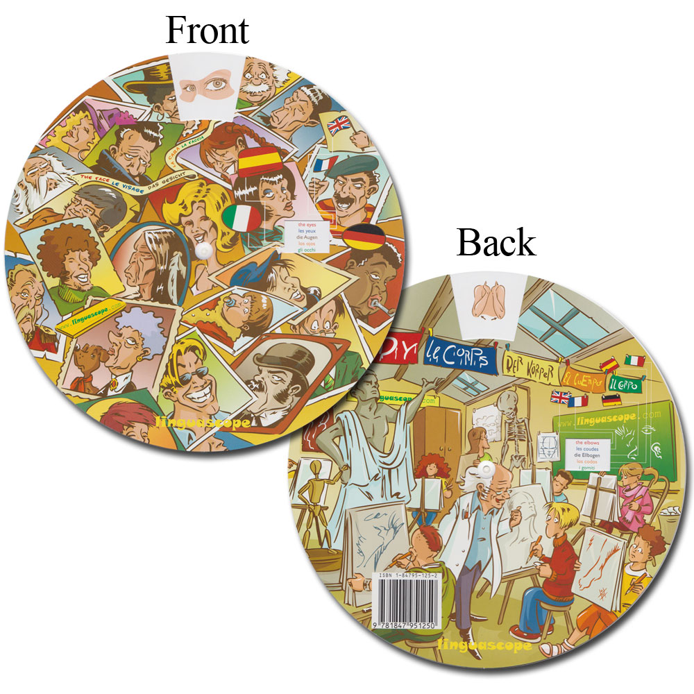Multilingual Vocabulary Wheel - Body
