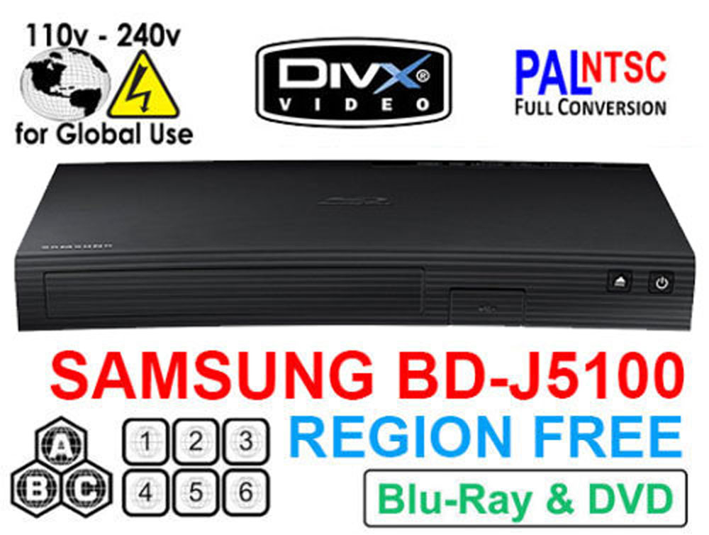 Region-Free DVD/Blu-Ray Player