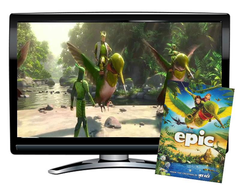 Epic Spanish/French DVD
