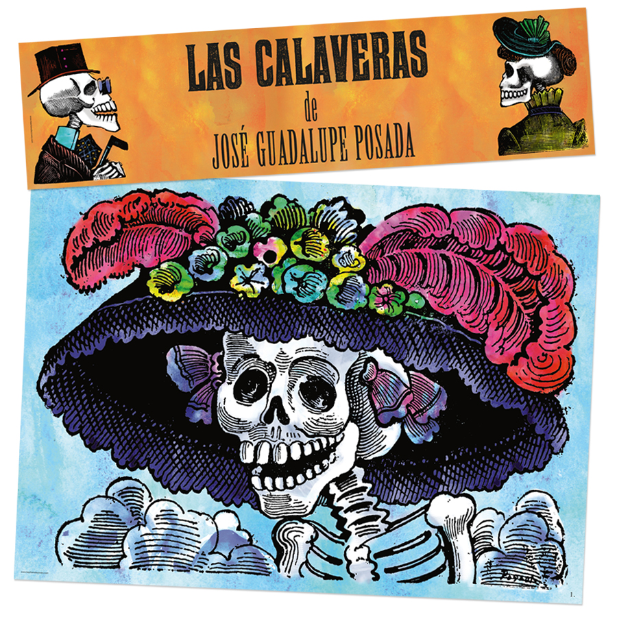 Posada's Calaveras Spanish Bulletin Board Set