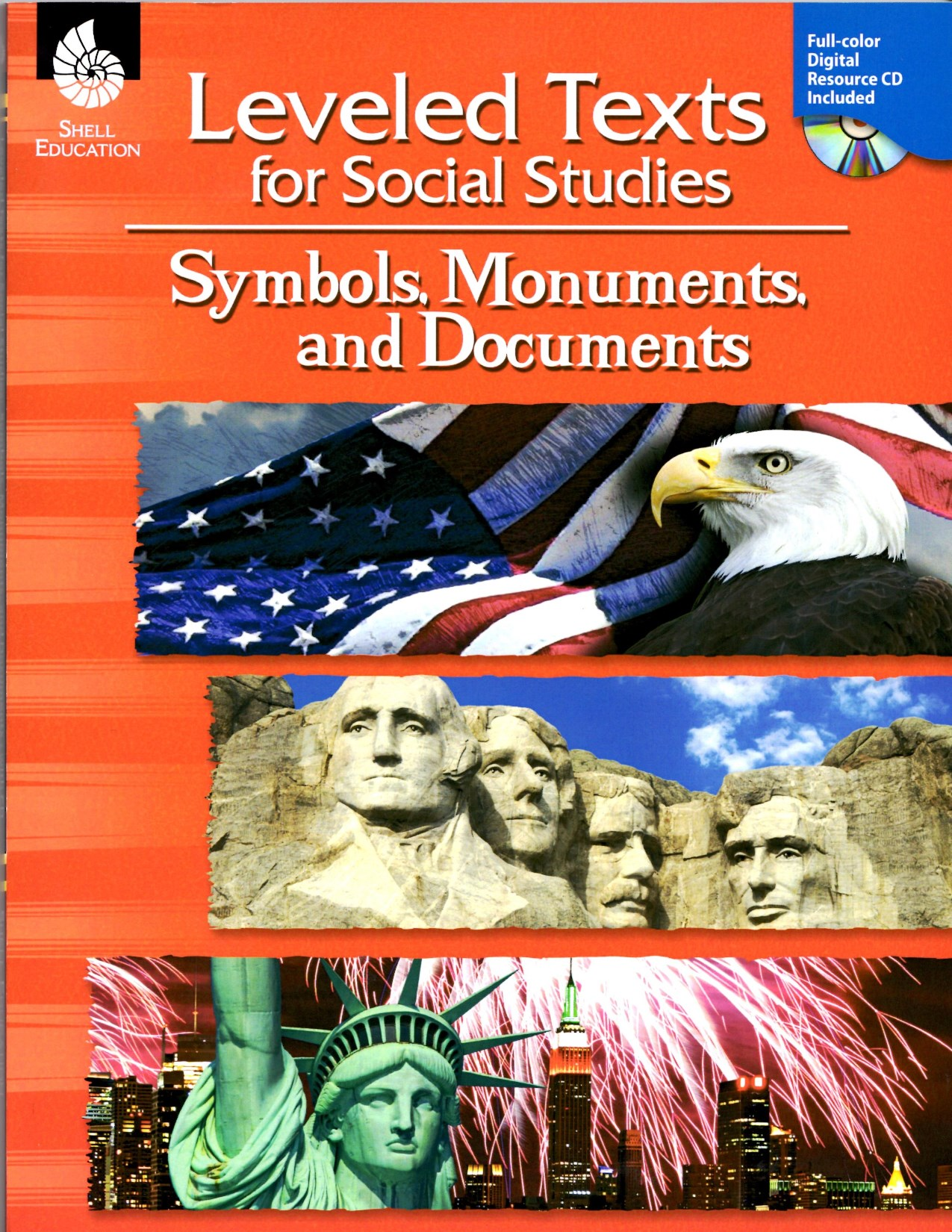Leveled Texts for Social Studies - Symbols, Monuments and Documents Book