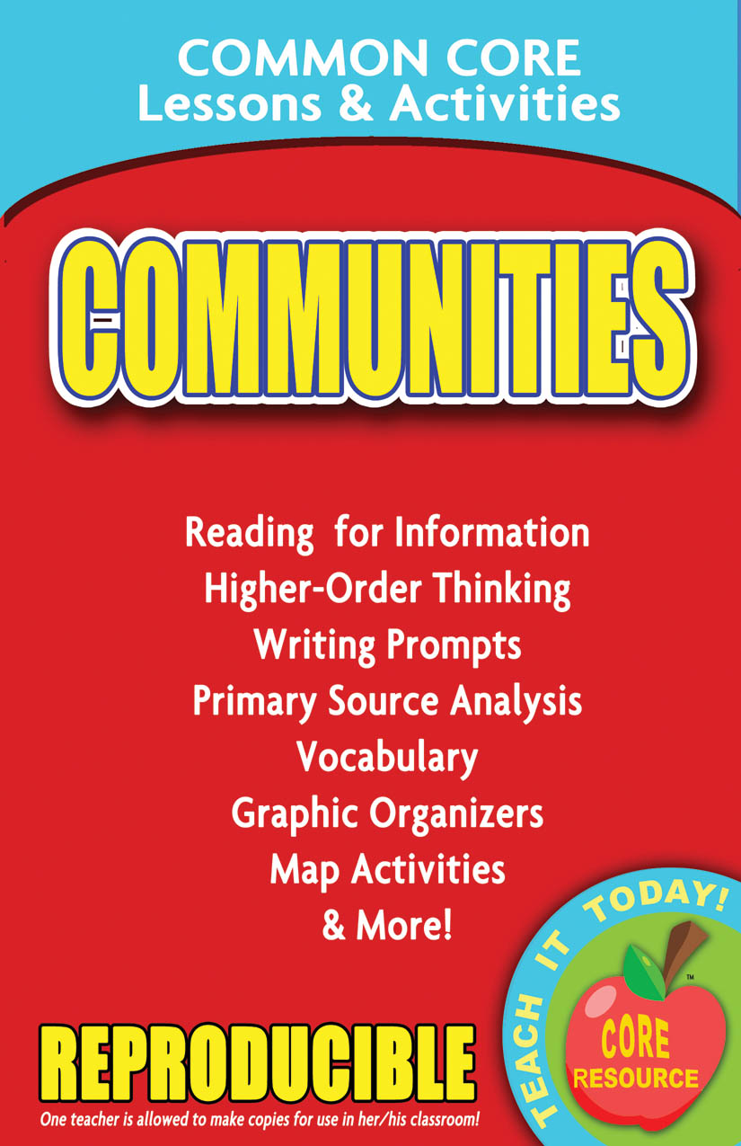 Communities Common Core Lessons and Activities Book