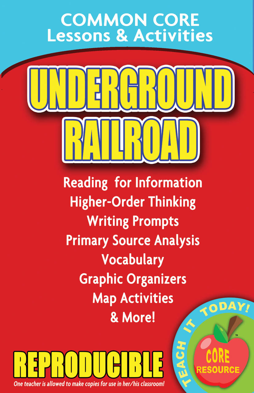 Underground Railroad Common Core Lessons and Activities Book