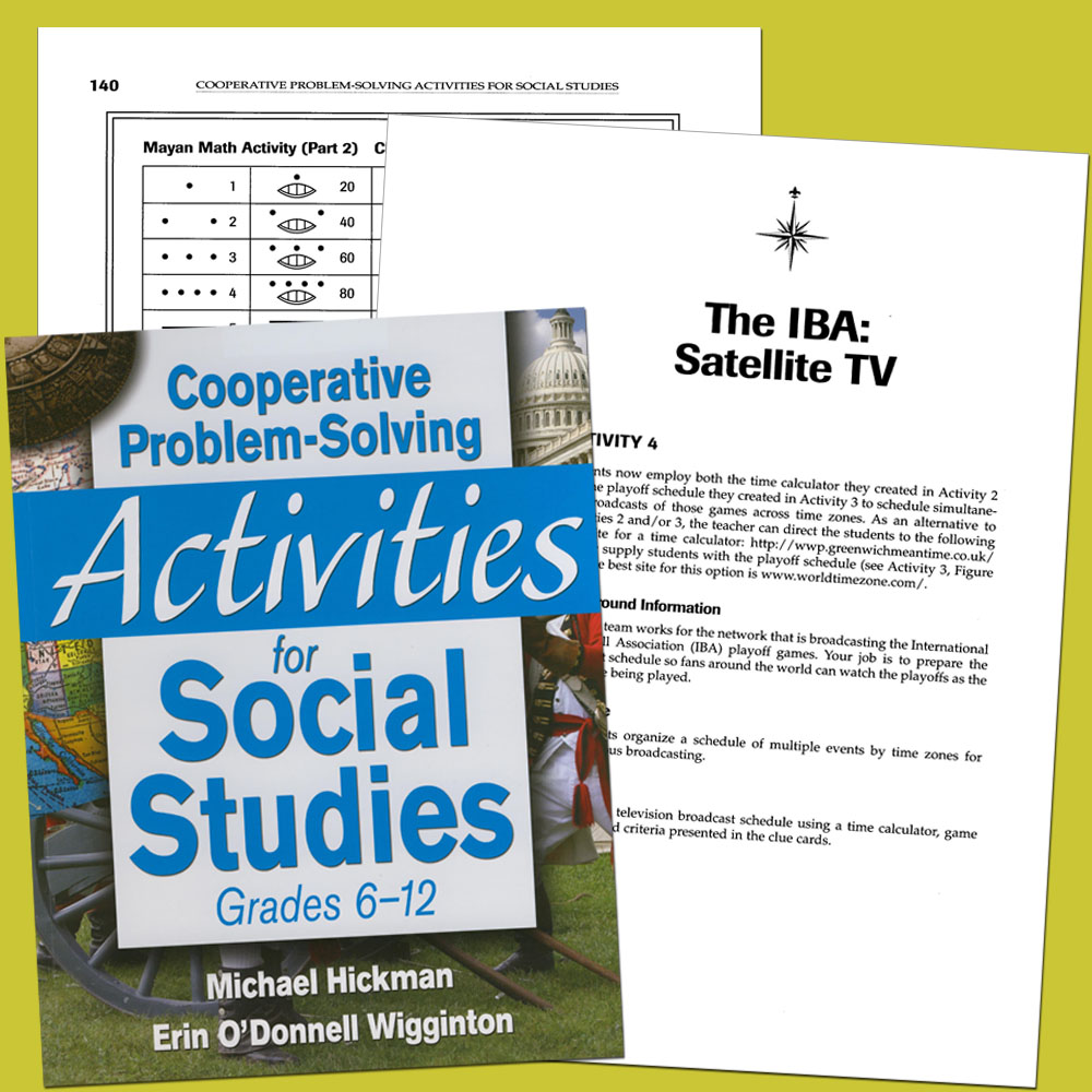 Cooperative Problem Solving Activities for Social Studies