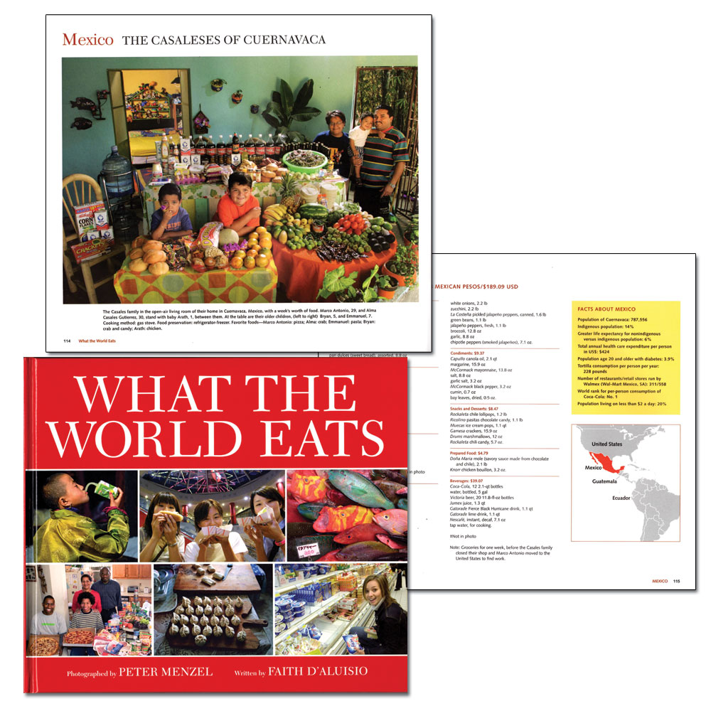 What the World Eats Book