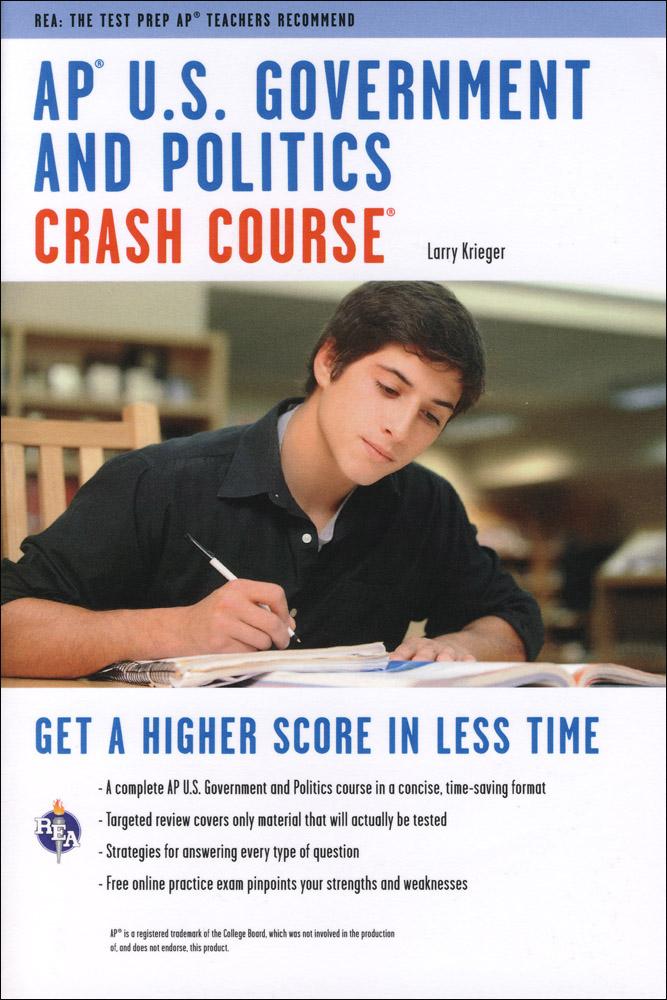 AP U.S. Government and Politics Crash Course Book