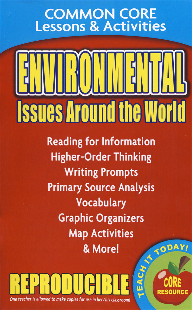 Environmental Issues Around the World Book