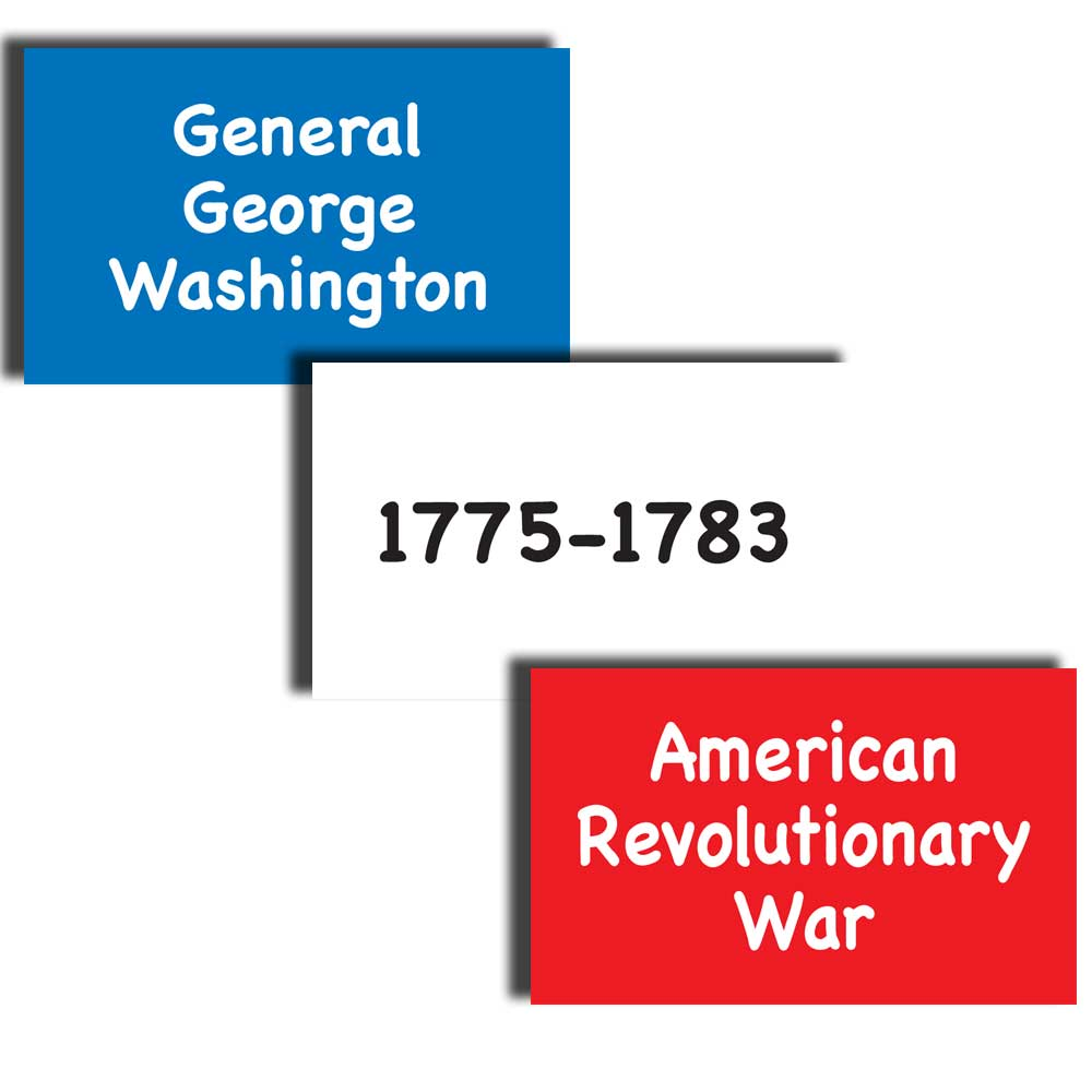 Wars, Dates, and Presidents Card Sort