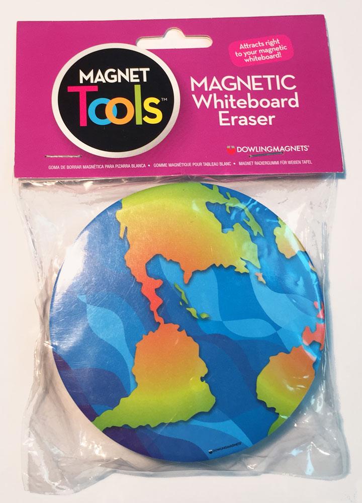 Earth Magnetic Whiteboard Eraser