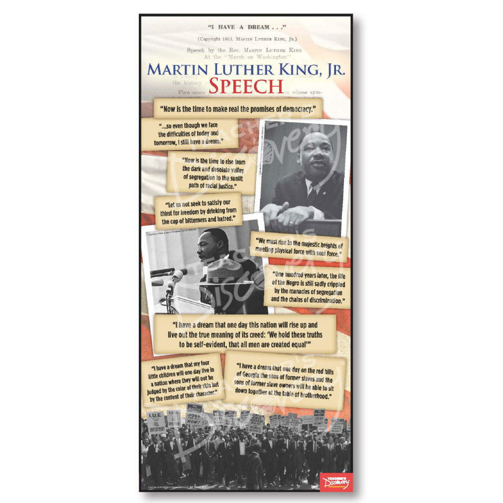 Martin Luther King, Jr. Document Poster