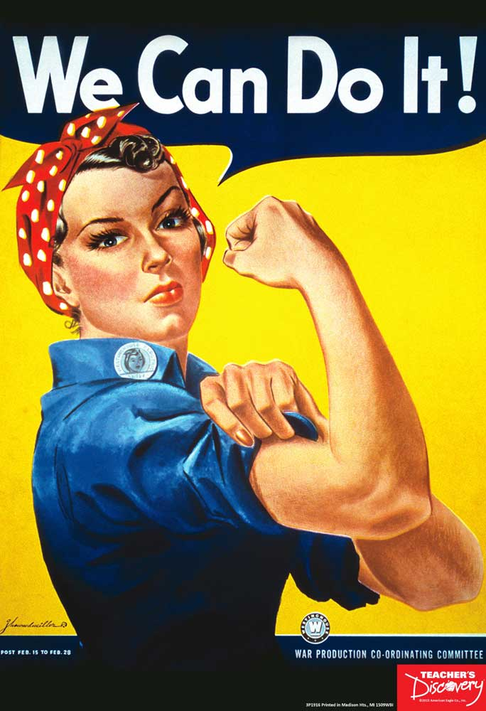 Rosie the Riveter Mini-Poster