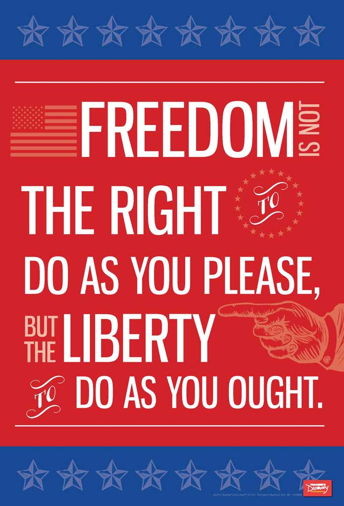 Freedom and Liberty Mini-Poster