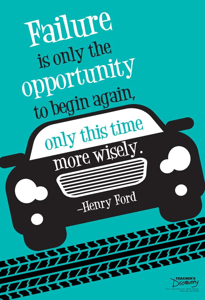 Failure Is Opportunity Mini-Poster