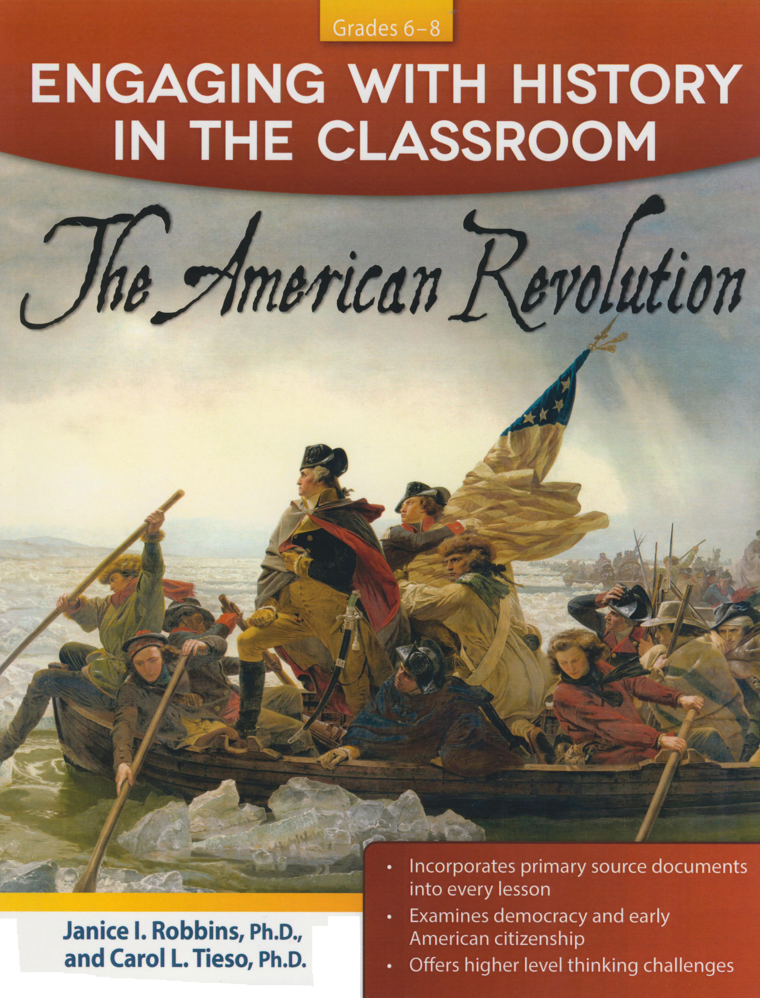 Engaging With History in Classroom - American Revolution Activity Book