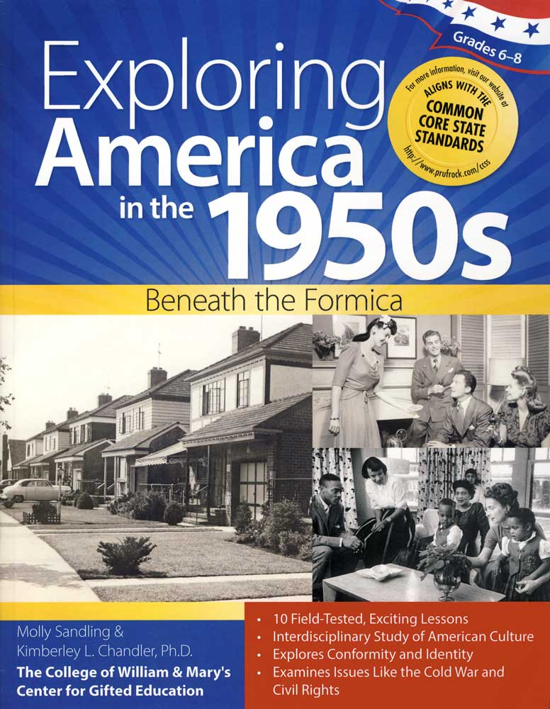 Exploring America in the 1950s Activity Book